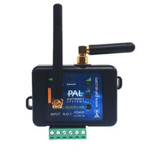 3G/4G контроллер Pal Electronics Systems SG303GI-WR (1 оптическое реле с анти-клон пультами)