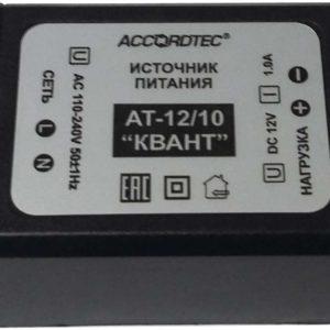 """AccordTec AT-12/10 """"КВАНТ"""", Источник стабилизированного питания"""