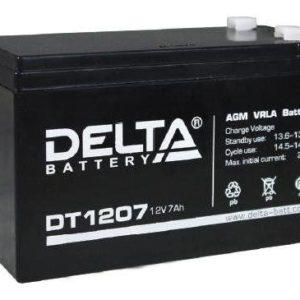 Аккумулятор Delta DT 1207 12V 7Ah