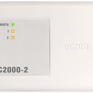 Bolid С2000-2, Контроллер доступа на два считывателя