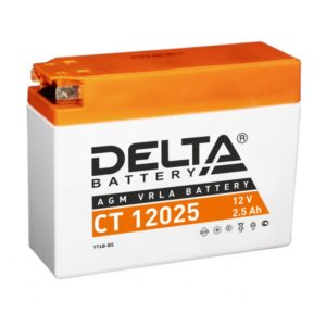 Delta CT 12025 (12V / 2.5Ah), Аккумуляторная батарея
