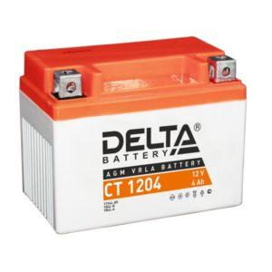 Delta CT 1204 (12V / 4Ah), Аккумуляторная батарея