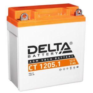 Delta CT 1205.1 (12V / 5Ah), Аккумуляторная батарея
