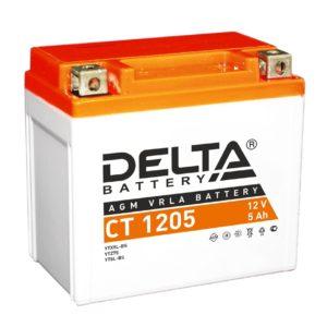 Delta CT 1205 (12V / 5Ah), Аккумуляторная батарея