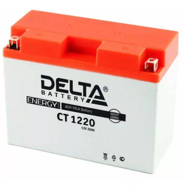 Delta CT 1220 (12V / 20Ah), Аккумуляторная батарея