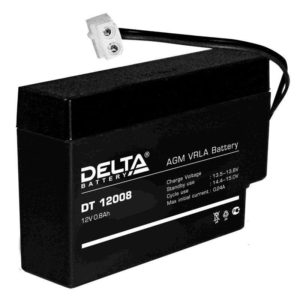 Delta DT 12008 (Т13) — аккумулятор