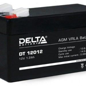 Delta DT 12012 — аккумулятор