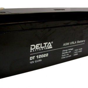Delta DT 12022 — аккумулятор
