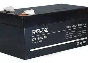 Delta DT 12032 — аккумулятор