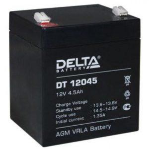 Delta DT 12045 — аккумулятор