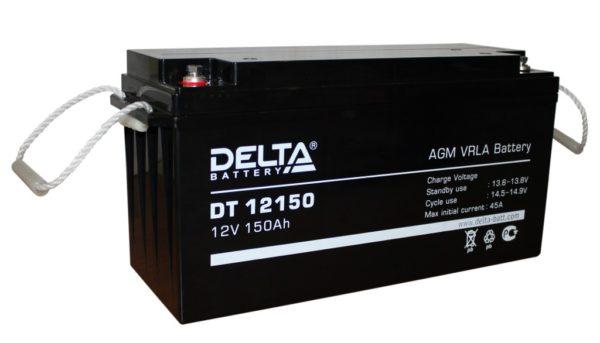 Delta DT 12150 (12V / 150Ah), Аккумуляторная батарея