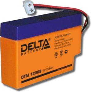 Delta DTM 12008 — аккумулятор