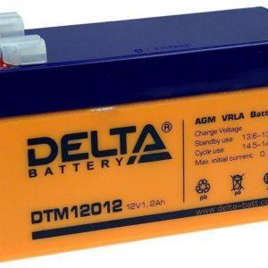 Delta DTM 12012 — аккумулятор