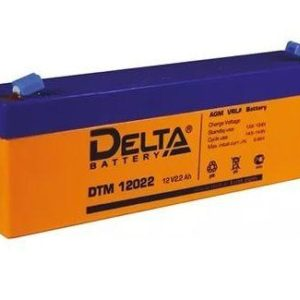 Delta DTM 12022 — аккумулятор