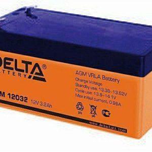 Delta DTM 12032 — аккумулятор