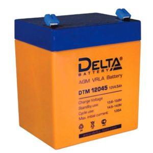 Delta DTM 12045 — cвинцово-кислотный аккумулятор