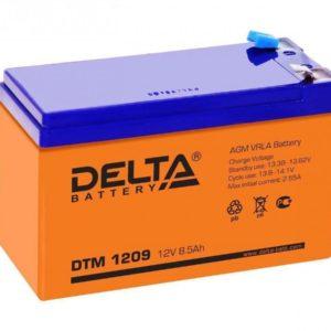 Delta DTM 1209 — аккумулятор
