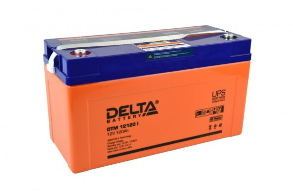 Delta DTM 12120 I (12V / 120Ah), Аккумуляторная батарея