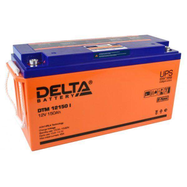 Delta DTM 12150 I (12V / 150Ah), Аккумуляторная батарея