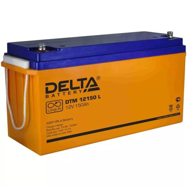 Delta DTM 12150 L (12V / 150Ah), Аккумуляторная батарея