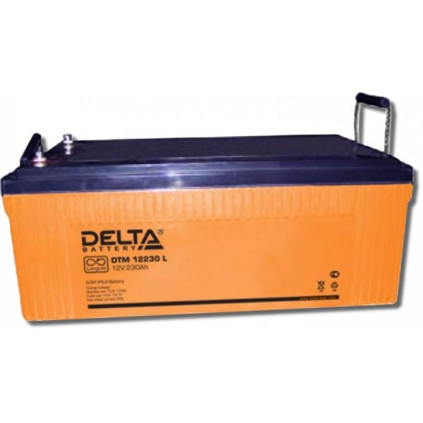 Delta DTM 12230 L (12V / 230Ah), Аккумуляторная батарея