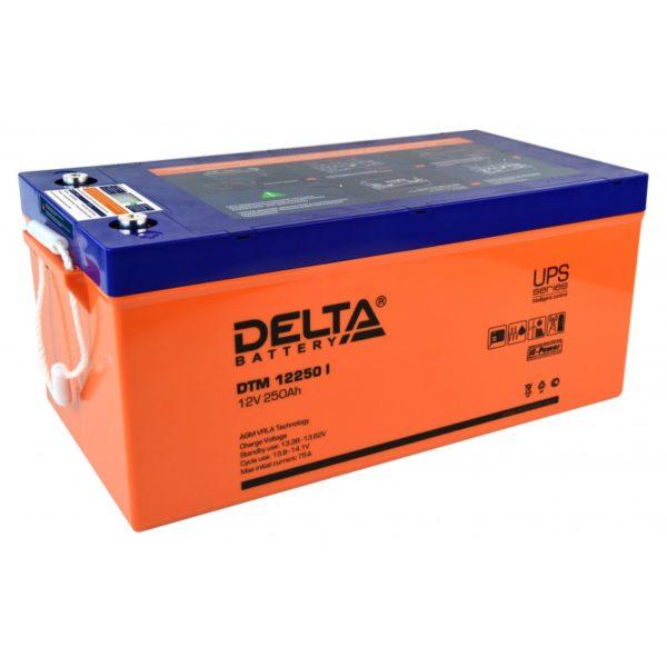 Delta DTM 12250 I (12V / 250Ah), Аккумуляторная батарея