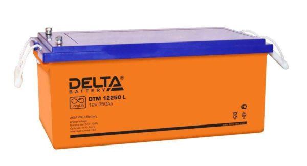 Delta DTM 12250 L (12V / 250Ah), Аккумуляторная батарея