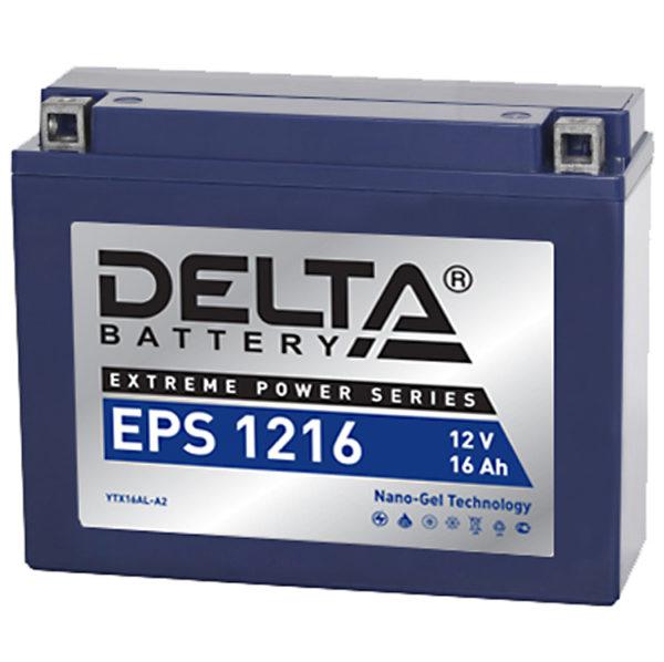 Delta EPS 1216 (12V / 16Ah), Аккумуляторная батарея