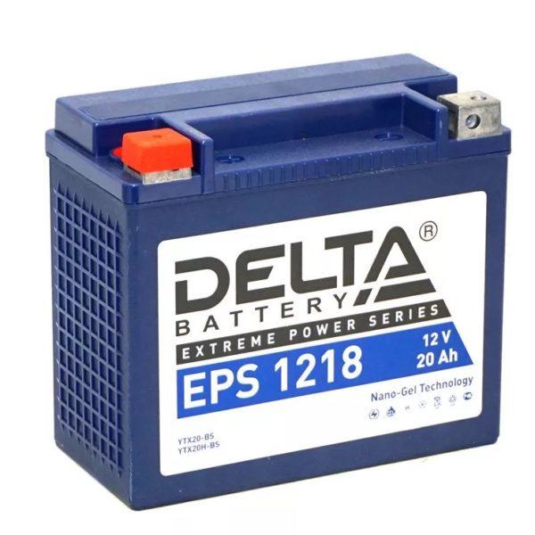 Delta EPS 1218 (12V / 20Ah), Аккумуляторная батарея