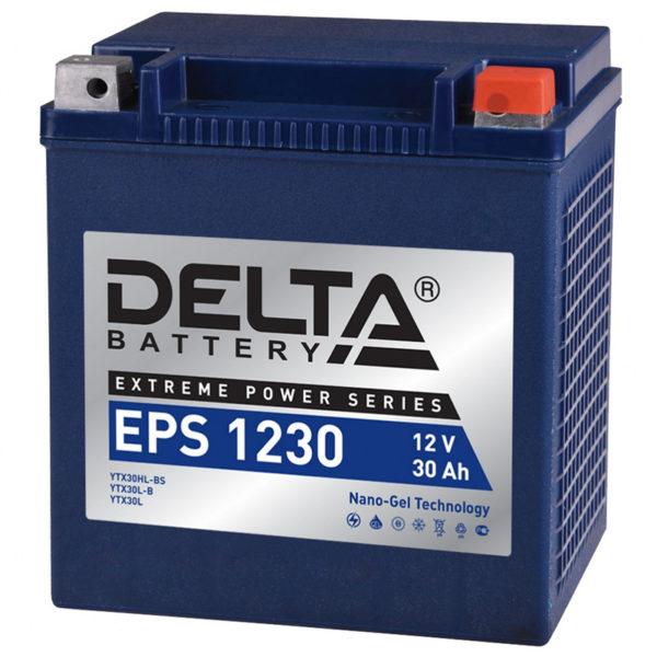 Delta EPS 1230 (12V / 30Ah), Аккумуляторная батарея