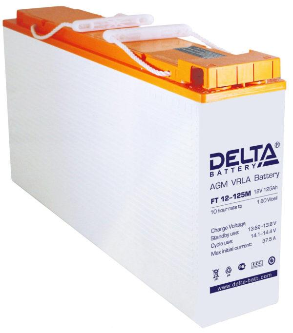 Delta FT 12-125 M (12V / 125Ah), Аккумуляторная батарея