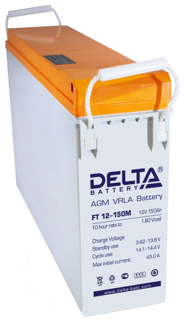 Delta FT 12-150 M (12V / 150Ah), Аккумуляторная батарея