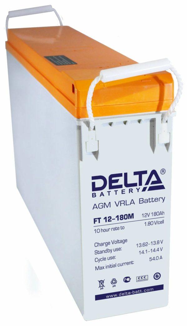 Delta FT 12-180 M (12V / 180Ah), Аккумуляторная батарея