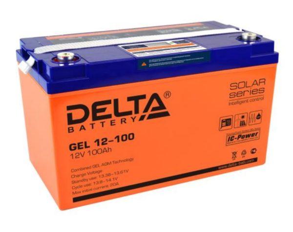 Delta GEL 12-100 (12V / 100Ah), Аккумуляторная батарея