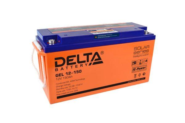 Delta GEL 12-150 (12V / 150Ah), Аккумуляторная батарея