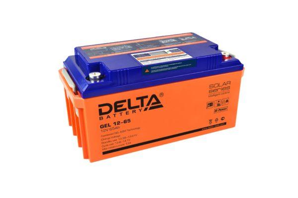Delta GEL 12-65 (12V / 65Ah), Аккумуляторная батарея