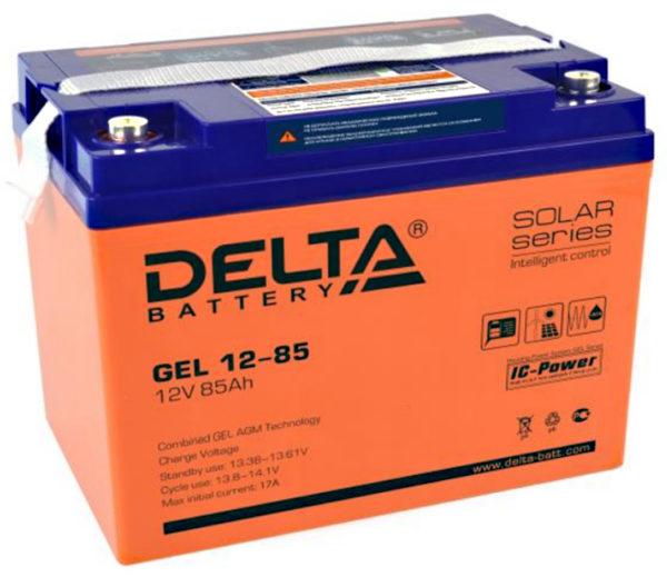 Delta GEL 12-85 (12V / 85Ah), Аккумуляторная батарея