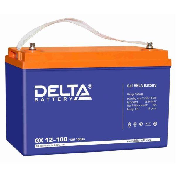 Delta GX 12-100 (12V / 100Ah), Аккумуляторная батарея