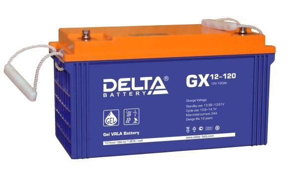 Delta GX 12-120 (12V / 120Ah), Аккумуляторная батарея