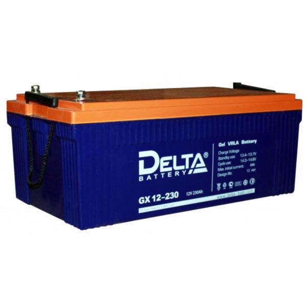 Delta GX 12-230 (12V / 230Ah), Аккумуляторная батарея