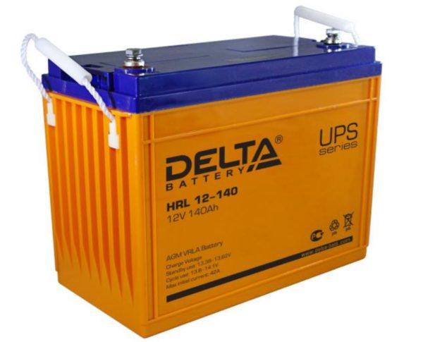 Delta HRL 12-140 (12V / 140Ah), Аккумуляторная батарея