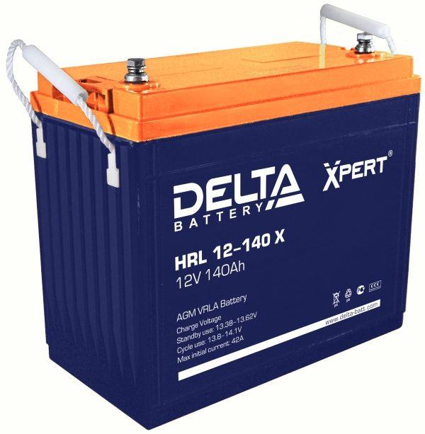 Delta HRL 12-140 X (12V / 140Ah), Аккумуляторная батарея