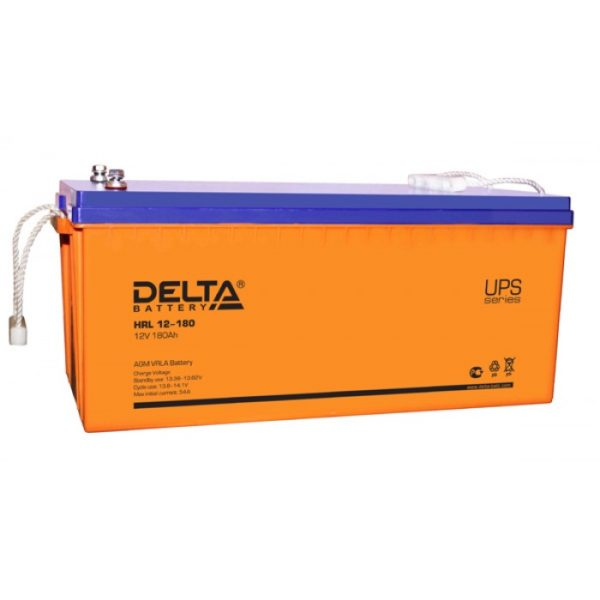 Delta HRL 12-180 (12V / 180Ah), Аккумуляторная батарея