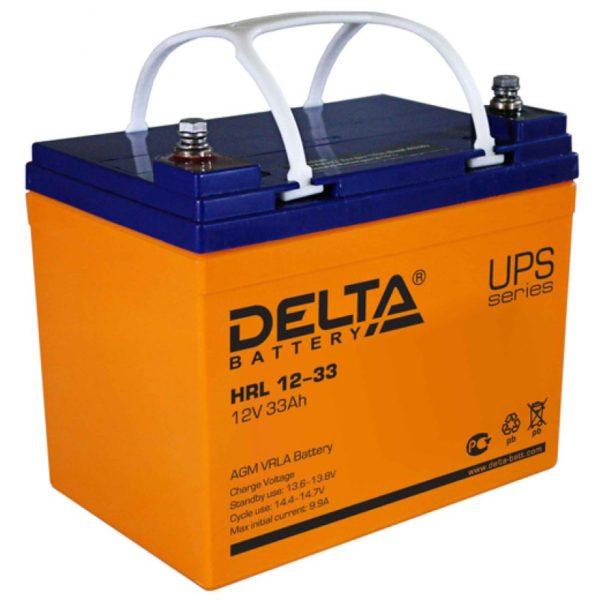 Delta HRL 12-33 (12V / 33Ah), Аккумуляторная батарея
