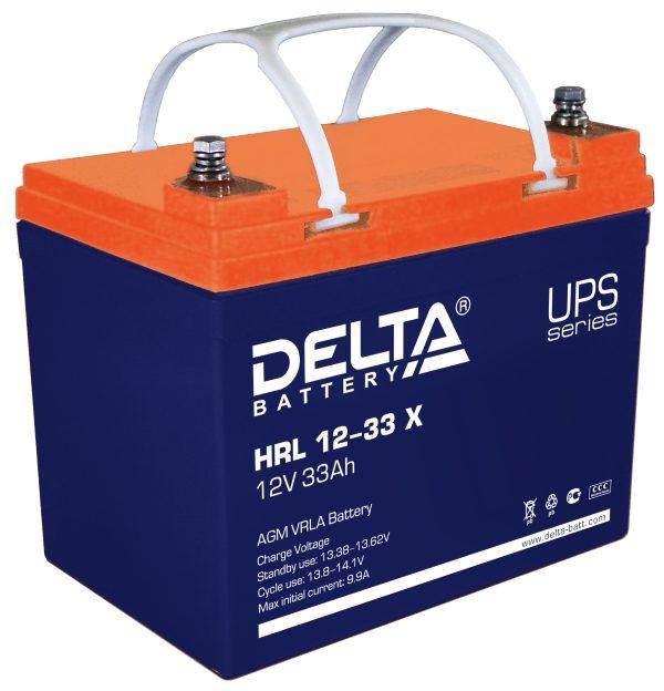 Delta HRL 12-33 X (12V / 33Ah), Аккумуляторная батарея
