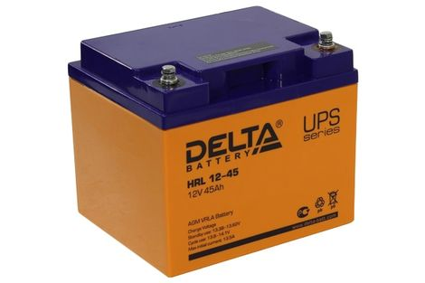 Delta HRL 12-45 (12V / 45Ah), Аккумуляторная батарея