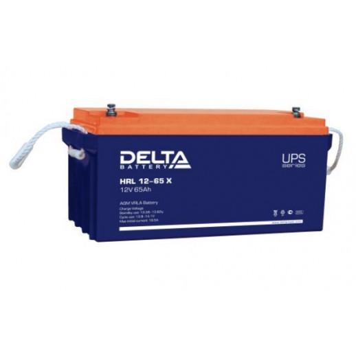 Delta HRL 12-65 X (12V / 65Ah), Аккумуляторная батарея