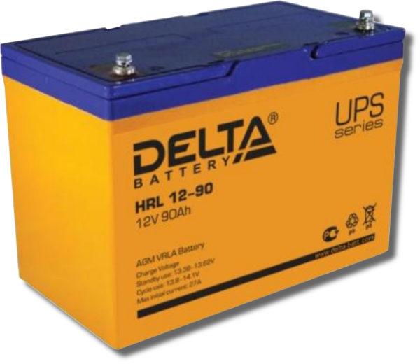 Delta HRL 12-90 (12V / 90Ah), Аккумуляторная батарея