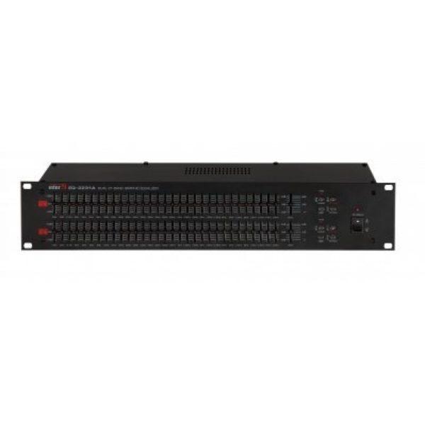 Эквалайзер графический двухканальный 31 полосный EQ-2231A