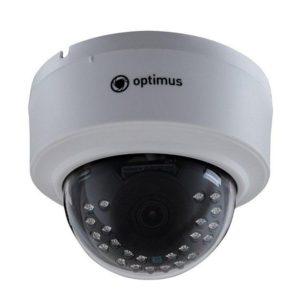 IP видеокамера Optimus IP-E021.0(2.8) — купольная IP камера видеонаблюдения